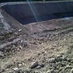 Escavação de tanques