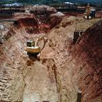 Grandes escavações