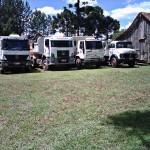 Caminhões para obras