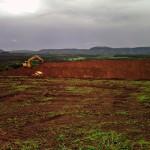 Preparação do terreno